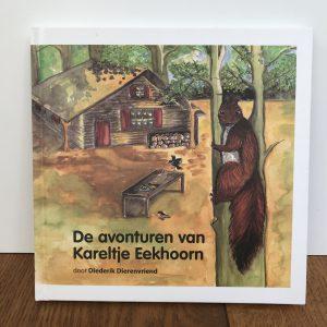 Boek 'de avonturen van Kareltje Eekhoorn